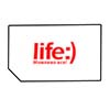 Life :), Ukraine SIM card for GSM phone with 10 USD credit on the account